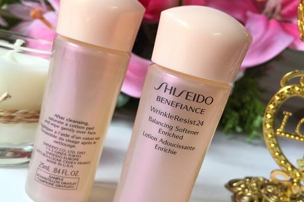 Nước hoa hồng shiseido benefiance chống lão hóa có tốt không?