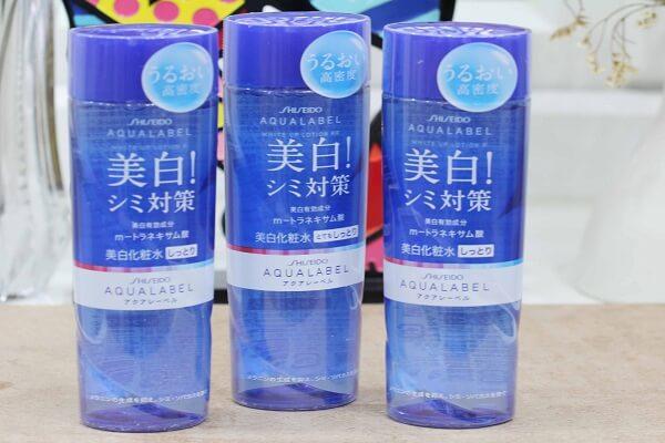 Nước hoa hồng shiseido aqualabel dành cho da nhờn (chai màu xanh)