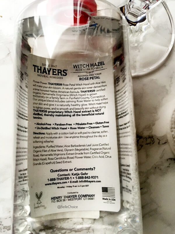 Review nước hoa hồng thayer lavender
