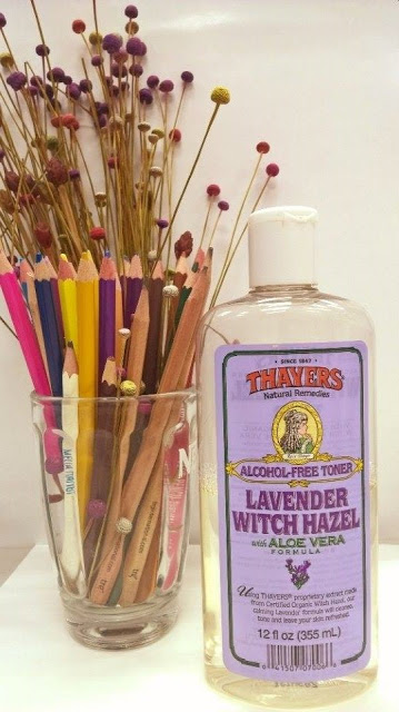 Review nước hoa hồng Skincare Thayer Toner Lavender Witch Hazel with ALOE VERA