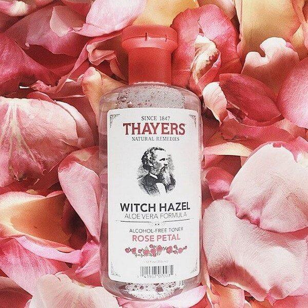 Nước hoa hồng Alcohol Free Witch Hazel Toner – Thương hiệu Thayers