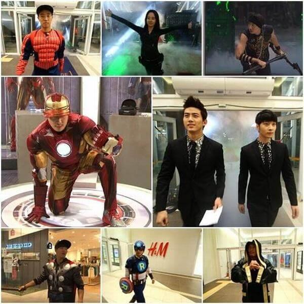 Tập 150: Avengers - running man tập vui nhất
