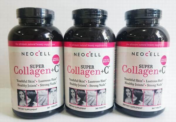 Viên uống collagen của Mỹ NeoCell Super Collagen +C Type 1&3 360 viên (Mỹ)