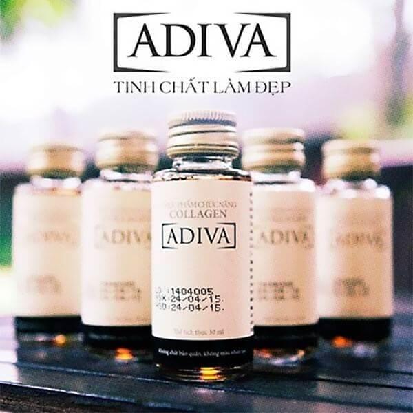 Ứng dụng công nghệ mới cùng thành phần 100% Collagen Peptide nhập khẩu từ Đức, Adiva Collagen giúp ngăn chặn lão hóa, phục hồi làn da