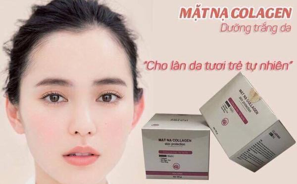 Hiện nay trên thị trường tràn ngập loại mặt nạ collagen được quảng cáo có tác dụng trẻ hóa da, làm da săn chắc, mịn màng.