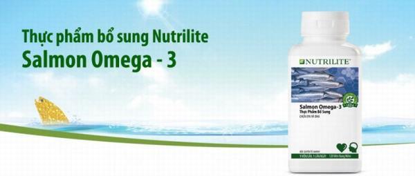 Tác dụng của Viên dầu cá Nutrilite Salmon Omega 3 Amway