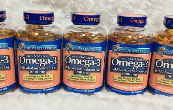 Tác dụng của Omega 3 Alaska Fish Oil Mỹ