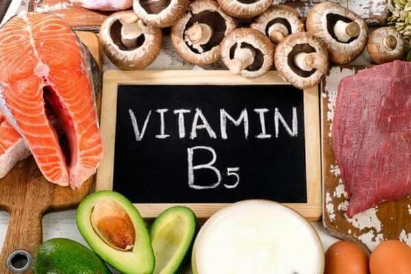 Tác dụng của Vitamin B5 (Axit Pantothenic)