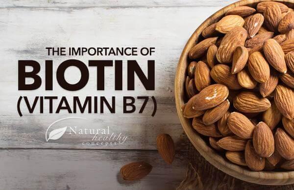 Tác dụng của Vitamin B7 (Biotin còn được gọi là vitamin H)
