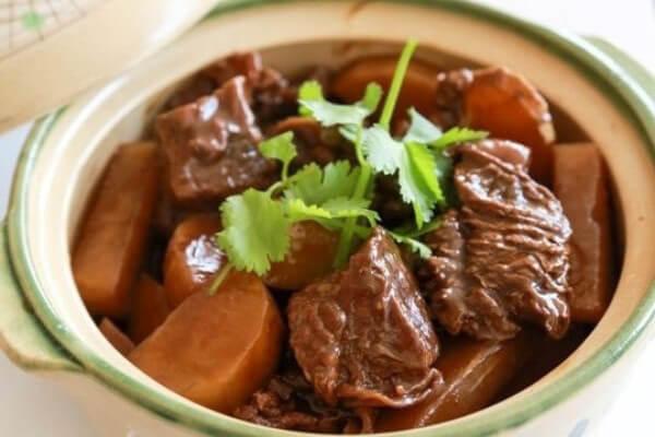 Thịt bò kho củ cải – Giúp em lên thực đơn hàng ngày cho gia đình miền Nam dễ làm