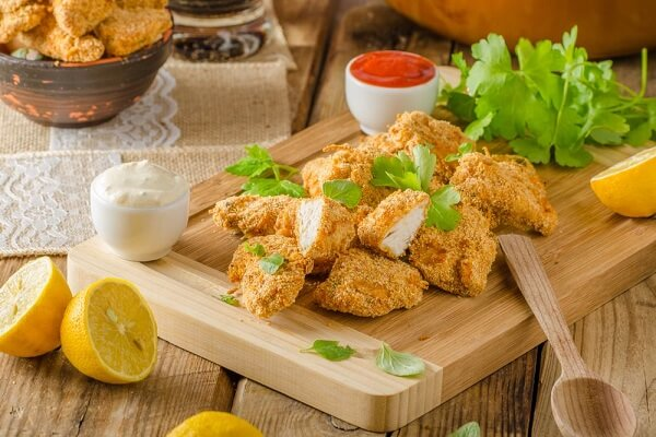 Chicken nuggets - món ăn ngon ngày sinh nhật