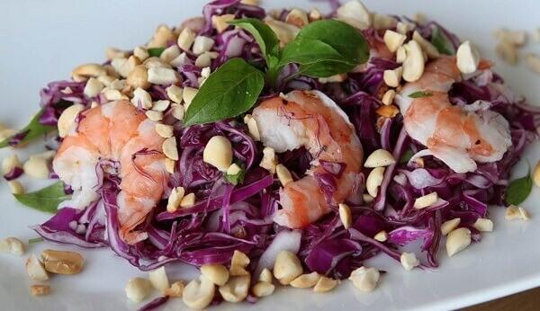 Salad bắp cải - thực đơn món ngon đãi tiệc