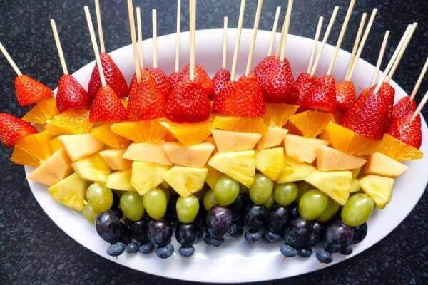 Trái cây tráng miệng -món ngon đãi tiệc mùa hè