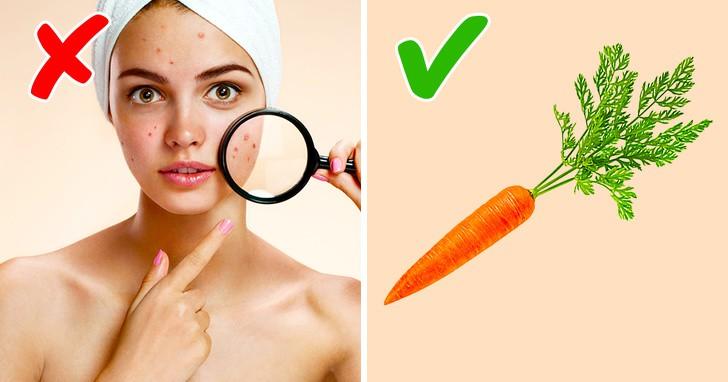 Bổ sung vitamin A cho kem dưỡng ban đêm để trị sẹo, nám và tàn nhang