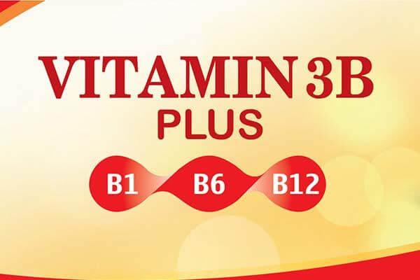 Vitamin 3b (b1 b6 b12) có tác dụng gì, uống lúc nào và liều dùng
