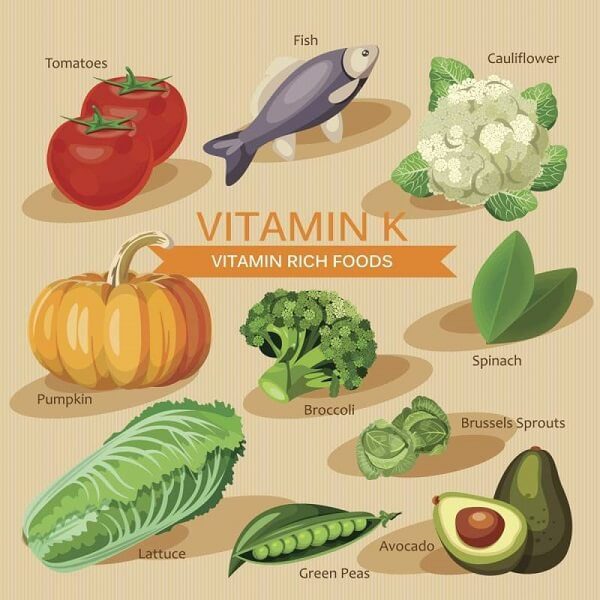 Vitamin k có trong thực phẩm nào, thực phẩm chứa nhiều vitamin K tốt cho bà bầu, trẻ nhỏ