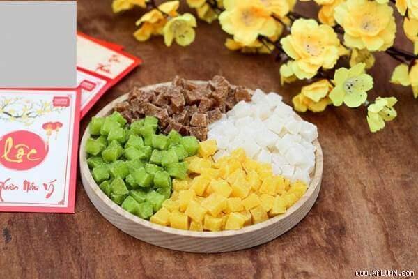 Món mứt dừa quen thuộc trong ngày Tết cổ truyền Việt Nam