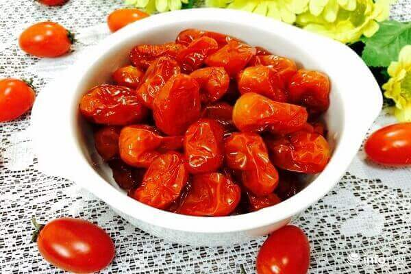 Cách làm mứt hoa quả, trái cây dẻo: Mứt cà chua, cà chua bi