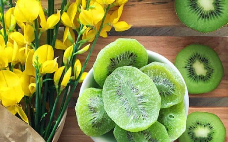 Cách làm mứt trái cây dẻo: Mứt Kiwi