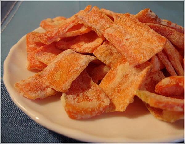 Cách làm mứt dẻo cà rốt ngày Tết đơn giản nhất