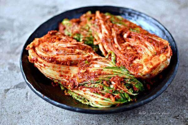 Cách làm kim chi cải thảo bằng tiếng Anh, kim chi cải thảo trong văn hóa ẩm thực Hàn Quốc