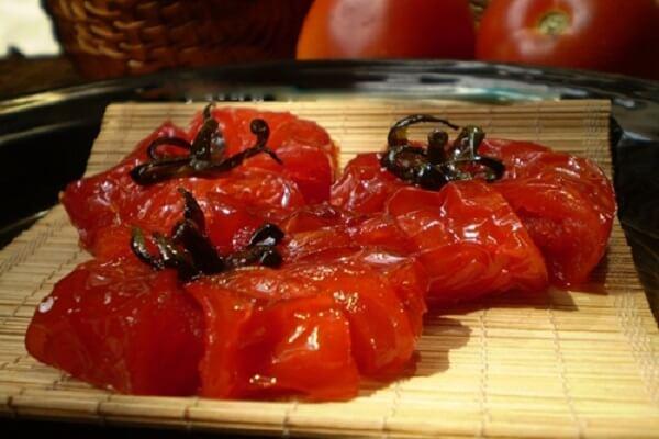5 cách làm mứt cà chua bi, mứt cà chua dẻo không cần vôi