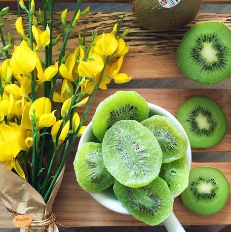 Cách làm mứt kiwi rừng dẻo và đơn giản