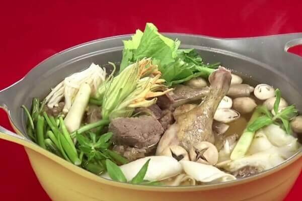 Cách nấu lẩu ngan om sấu công thức chuẩn nhà hàng