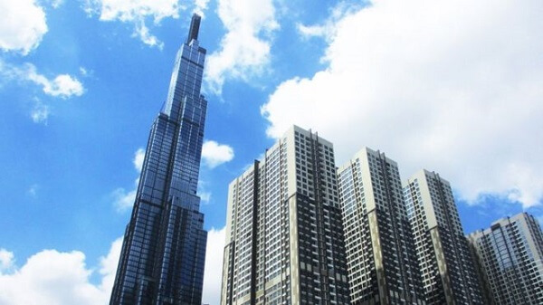 Toà tháp The Landmark 81, với độ cao dự kiến 461 m, gồm 81 tầng được xây dựng tại vị trí trung tâm của khu đô thị Vinhomes Central Park