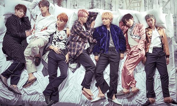 Một số hình ảnh của các thành viên nhóm BTS ngày trước và bây giờ