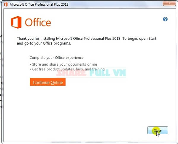 Hướng dẫn cách crack office 2013 professional plus, active microsoft office 2013, tai crack office 2013