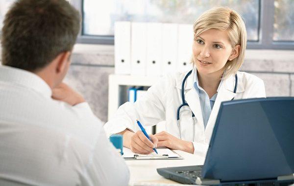 Bạn sẽ được chỉ định chụp phiếu xét nghiệm và chẩn đoán bệnh và đưa ra phương án điều trị