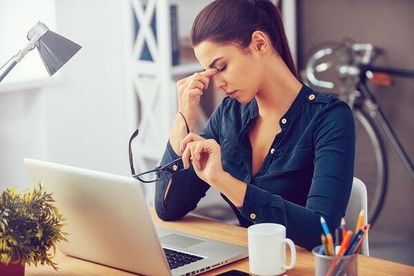 Áp lực, căng thẳng là một trong những nguyên nhân chủ yếu gây nên các bệnh lý thần kinh