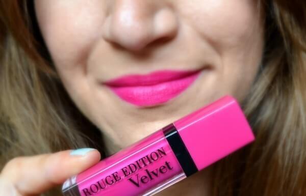 Son Velvet màu số 06 (hồng cánh sen) - Pink Pong
