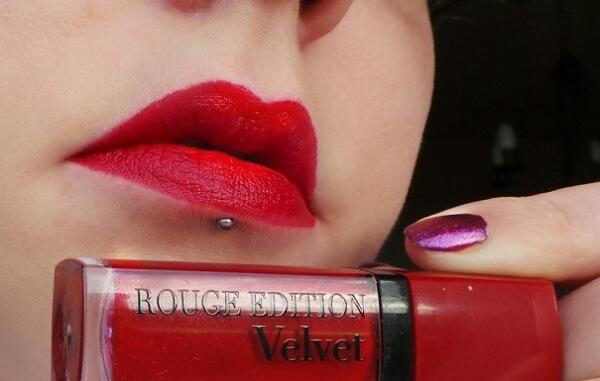 Son Velvet màu số 08 (đỏ cherry) - Grand Cru