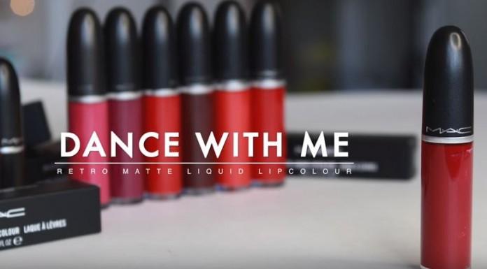 Dance With Me dong son MAC mang màu đỏ cổ điển