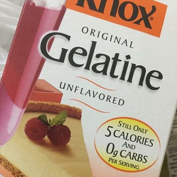 Cách sử dụng bột gelatin giống như dùng gelatin lá