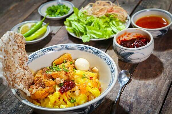Mì Quảng có sự khác nhau tùy từng vùng - các món ăn ngon 72 món ẩm thực Vn