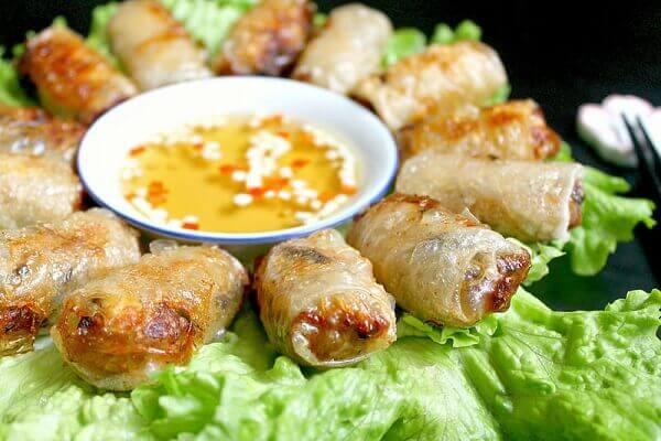 Chả giò Sài Gòn - các món ăn ngon 72 món ẩm thực Vn