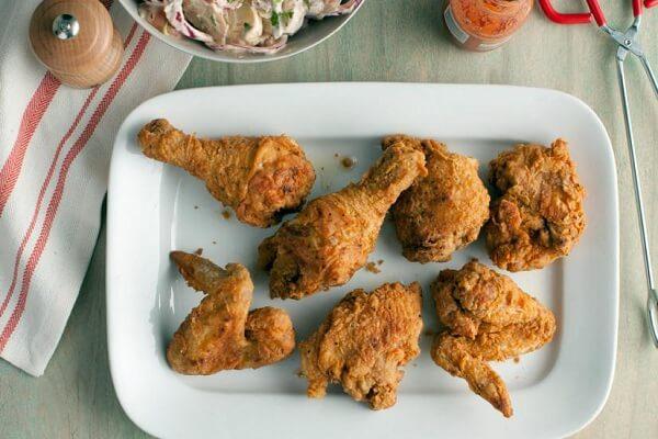 4 cách làm gà rán tẩm bột chiên xù tại nhà ngon như ngoài hàng KFC, Lotteria