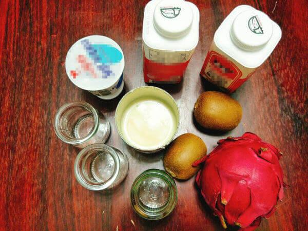 Nguyên liệu làm sữa chua uống vị hoa quả