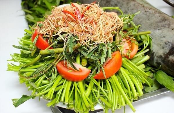 Các loại rau và nấm ăn lẩu thập cẩm