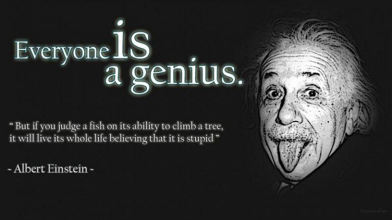 Tác giả của thuyết tương đối – nhà vật lý vĩ đại người Đức Albert Einstein là một thiên tài không thể phủ nhận