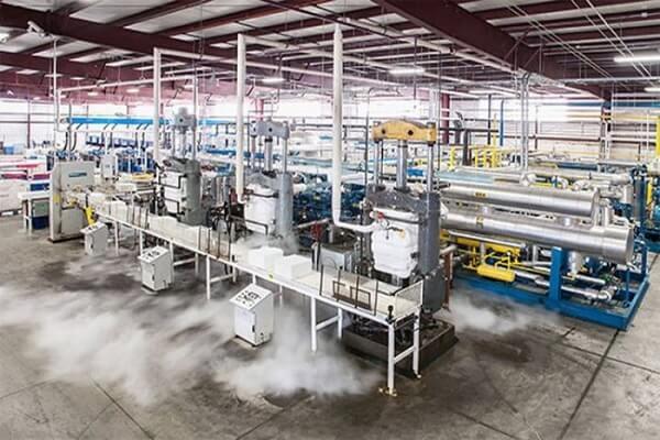 Quy trình sản xuất đá khô CO2