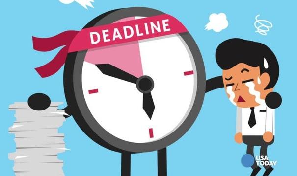 Deadline là thời hạn kết thúc, được dùng để đề cập thời gian cụ thể hoàn thành một nhiệm vụ hoặc công việc được giao.