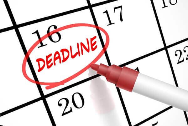 Deadline giúp bạn nhận biết các sai lầm sớm hơn