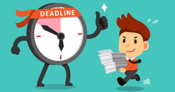 """Những """"sai lầm"""" cần tránh khi lập ra Deadline"""