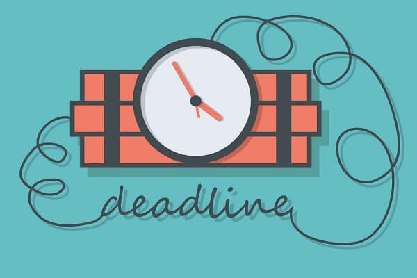 Chạy Dateline Deadline là gì, 4 điều lưu ý để luôn hoành thành tốt Deadline