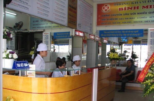 Phòng khám Đa khoa Bình Minh, Hai Bà Trưng, Hà Nội