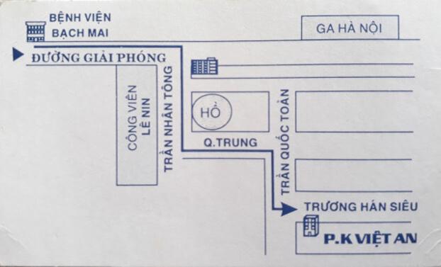 Hướng dẫn đường đi đến phòng khám Việt An